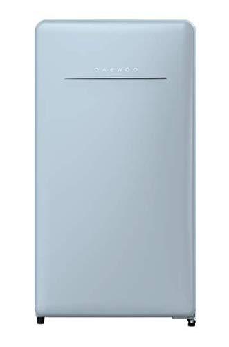 Daewoo FR-044RCNL Retro Compact Refrigerator 4.4 Cu Ft City Blue