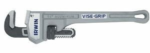 IRWIN VISE-GRIP Tools Cast Aluminum Pipe Wrench, 2-Inch Jaw Capacity, 14-Inch (2074114)