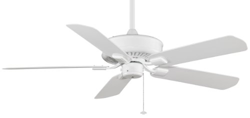 Fanimation TF910WH-220 EDGEWOOD WET LOCATION: WHITE 220 VOLT