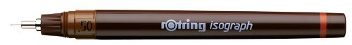 rOtring Isograph Technical Drawing Pen, 0.50 mm by Rotring