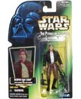 Star Wars, The Power of the Force Green Card, Bespin Han Solo Action Figure, 3.75 Inches