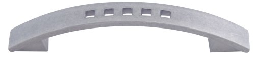 Atlas Homewares A807-P 4-3/4-Inch Euro-Tech Collection Band Pull, Pewter