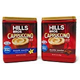 (Hills Bros. Cappuccino Sugar Free (2 Pack) 1 French Vanilla and 1 Double Mocha 12 Ounces Each)