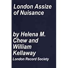 London Assize of Nuisance 1301 - 1431 (London Record Society) by Helena M. Chew (2015-09-17)
