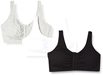 Fruit of the Loom Women/'s Front Close Builtup Sports Bra