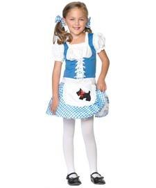 Leg Avenue C48115 - Kinderkostüm Darling Dorothy Dirndl, Größe XS, blau/weiß