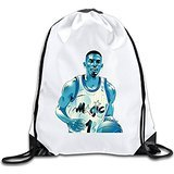 Discovery Wild Penny Hardaway Polyester Drawstring Backpack Rucksack Shoulder Bags Gym Bag Home Travel Sport Storage Use