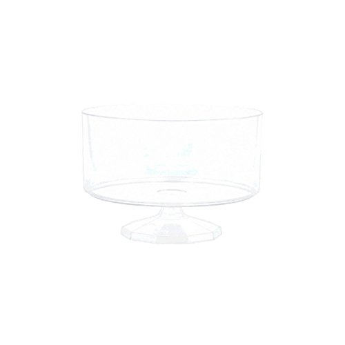 Amscan 437841.86 Small Trifle Container, 5 3/8