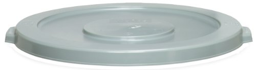 Receptacle Huskee (CMC 4445GY Grey Round Lid, 24-1/2