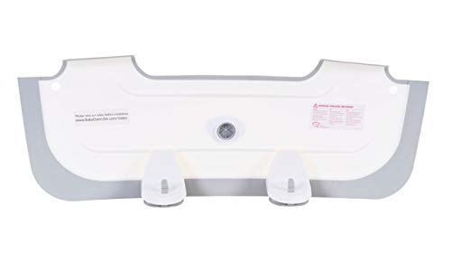 BabyDam Bathwater Barrier, Converts a Standard Non-Textured Bathtub to a Baby Bathtub by Baby Dam (Image #8)