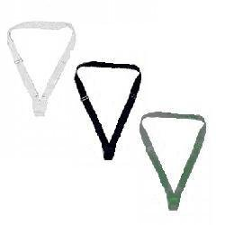 White Single Web Sling Carrying Belt Color Guard Parade Flagpole Holder