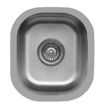 Stainless Steel Sinks, Edge E-310 Series Undermount Bar/ Prep Sink Single Bowl by handyct