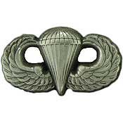 Metal Lapel Pin - US Army Pin/Emblem - US Army Basic Paratrooper Wings 1-1/4