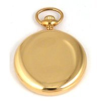 Dueber Special Railway Swiss Mechanical Pocket Watch, High Polish Gold Open Face Case, Assembled in USA!