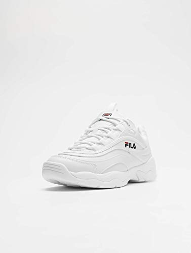 Blanc Fila Ray Homme Fila Baskets Homme 6TZxqX