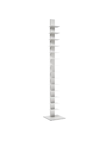 Sapiens Original Bookcase Sintesi H.79,6 inches 14 shelves White