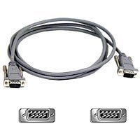 Belkin 6ft Rgb Monitor Replacement Cable Db9 M/db9 M