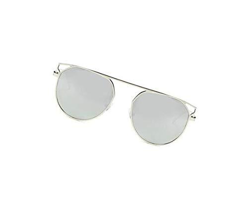 de sol moda Gafas de UV400 FlowerKui de las marco mujeres los hombres Grey las de de del sol de gafas WIg7xffwq8