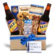 Happy Father's Day Gift Box w/ Fruit & Nuts, Cookies & Root Beer