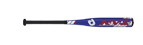 Wilson DeMarini NVS Vexxum Big Barrel Baseball Bat, 26'/15.5 oz, Royal/Red/White
