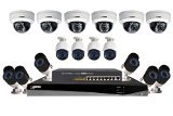 Lorex Technology LNR366 Security Surveillance System With High Definition 16 IP Cameras