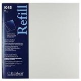 C.R. Gibson K45 Unimount Magnetic Sheet Refills for the P45 and P3X Series Photo Albums, 12x12\