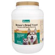 NaturVet Brewer's Yeast formula -Garlic Flavor- 4lbs