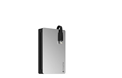 mophie Powerstation Plus 2X with Lightning Connector (3,000 mAh) - Black (Renewed) (Mophie Backup Battery)