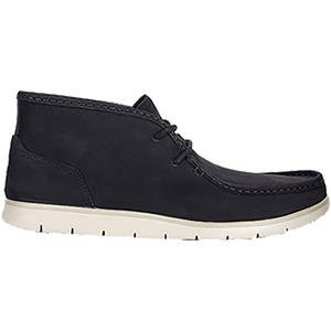 UGG Men's Hendrickson Chukka Boot,Black Leather,US 11 M