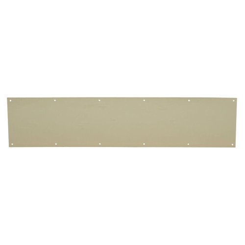 6 in. x 30 in. Bright Brass Kick Plate (678567)