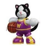 Webkinz Mini PVC Figure Shootin' Hoops Black and White Cat by Webkinz