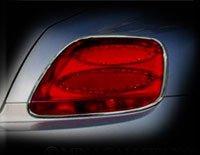 (Mina Gallery Tail Light Chrome Finisher Set for Bentley Flying Spur 2003-2009 models)