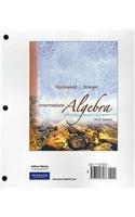 Intermediate Algebra with Applications &Visualization, A La Carte Plus (3rd Edition)