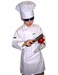 Chefskin Kids Chef Hat White LOT Lots Wholesale Hats (10) by CHEFSKIN