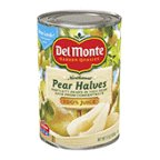 Del Monte Pear Halves in 100% Juice 15 oz (Pack of 12)