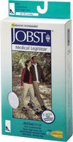 JOBST ActiveWear Knee-High Firm Compression Socks Medium, Black (1 Pair) by BSN Medical