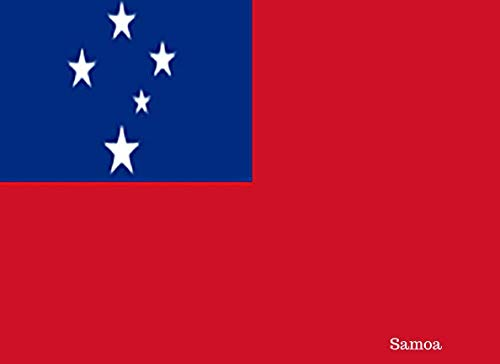 (Samoa: Patriotic Country National Flag Gift Journal Notebook)