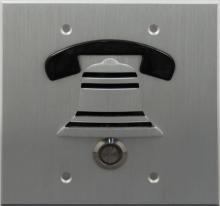 DoorBell Fon DP38-NSF Extra Outside Door Station-Brushed Aluminum