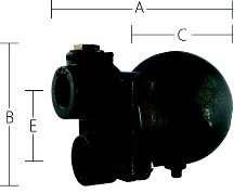 Sterling Float & Thermostatic Steam Trap Sterlco FT-74-15 - Float Steam Trap