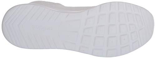 adidas Women's Cloudfoam Pure Running Shoe, Raw Grey Tech Ink Core Black, 6.5 us