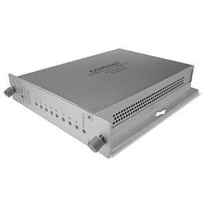 COMNET FDC8RS1 8 Channel Contact Closure Receiver, sm, 1 fiber