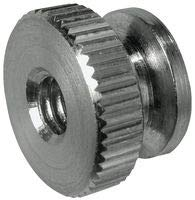 8-32X7/16 Inch Round Knurled Thumb Nuts, Stainless Steel (50/Pkg.)