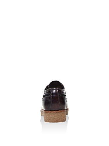 British Passport , Chaussures de ville à lacets pour femme marron foncé