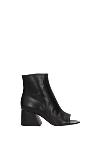 Noir EU Femme S58WP0122SY0807 MARGIELA Bottines Cuir MAISON qEYX7E