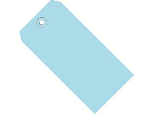 retailsource g11051bx100043/4X 23/20,3cm Azul Claro 13PT. Etiquetas de envío, 12,7cm Altura, 36,2cm longitud...