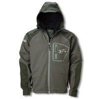 Loomis G Fishing Jacket - G. Loomis Softshell Hooded Jacket - Moss - 2XL