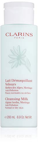 - Clarins Cleansing Milk, Normal To Dry Skin, 6.9 Ounce