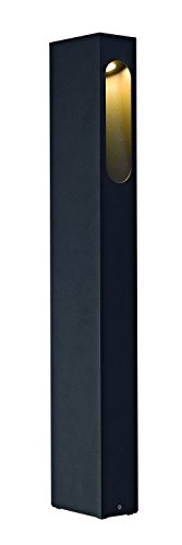 SLV Lighting Slotbox 70 - Outdoor LED Bollard - Anthracite Finish