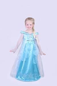 Amazon.com: Authentic Disney Paris Elsa Frozen Costume Dress up ...
