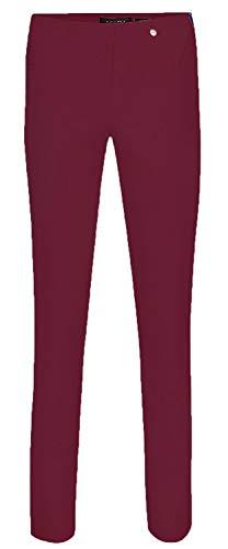 Robell Recto Mujer Para Pantalón Borgoña nO6qZHXw6